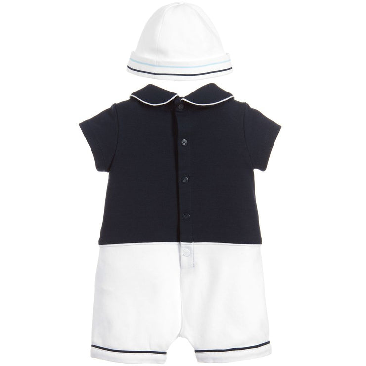 (Emporio) Armani Baby Boys 2 Piece Shortie Set - My Billionaire Baby