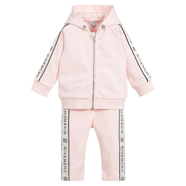 (Givenchy) Kids Girls Pink 4G Tracksuit - My Billionaire Baby