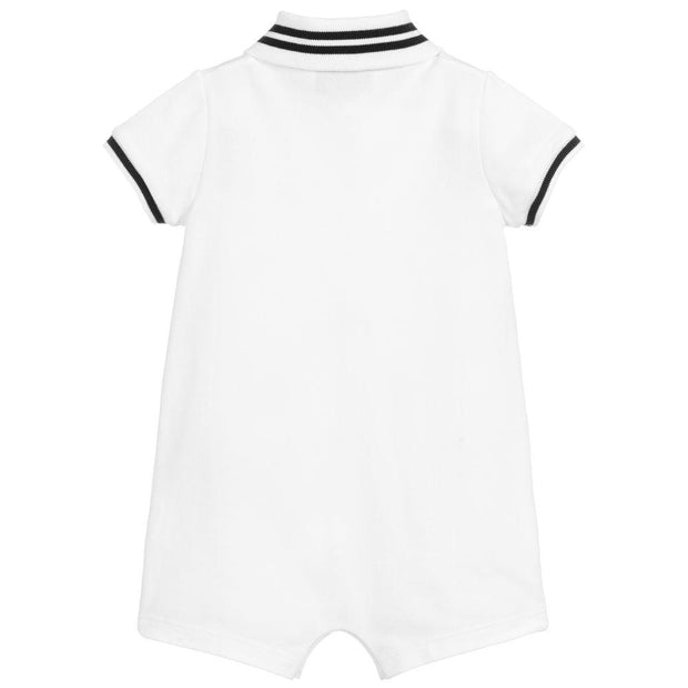 (Gucci) Baby Boys White Piqué Shortie - My Billionaire Baby