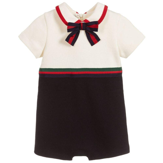 (Gucci) Baby Girls Cotton Shortie - My Billionaire Baby