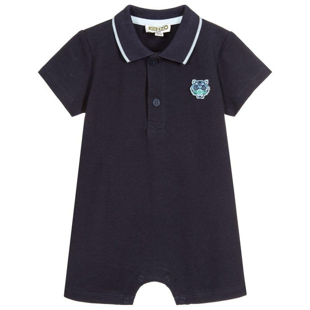 (Kenzo) Kids Baby Boys Tiger Polo Shortie - My Billionaire Baby
