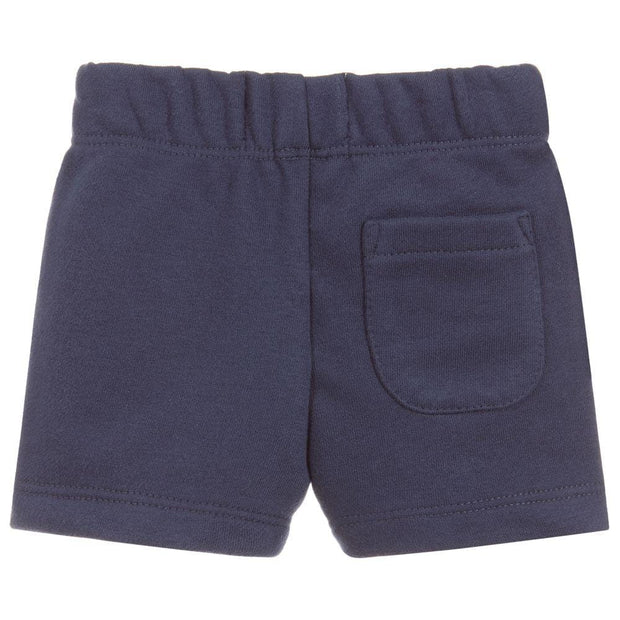 (Levi's) Boys Blue Cotton Jersey Shorts - My Billionaire Baby