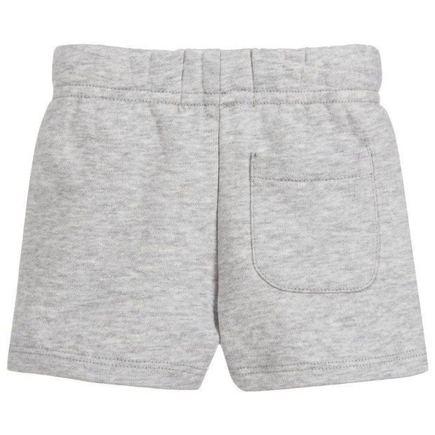 (Levi's) Boys Grey Cotton Jersey Shorts - My Billionaire Baby