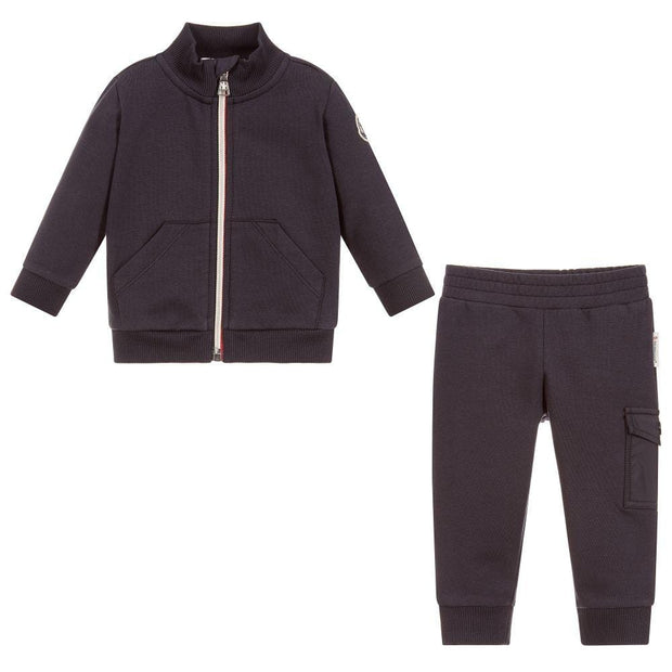 (Moncler) Baby Boys Cotton Tracksuit - My Billionaire Baby