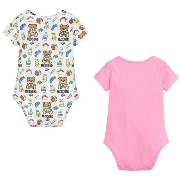 (Moschino) Baby Baby Girls Bodysuits (2 Pack) - My Billionaire Baby