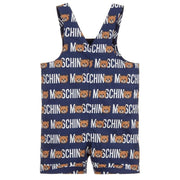 (Moschino) Baby Baby Teddy Cotton Dungarees - My Billionaire Baby