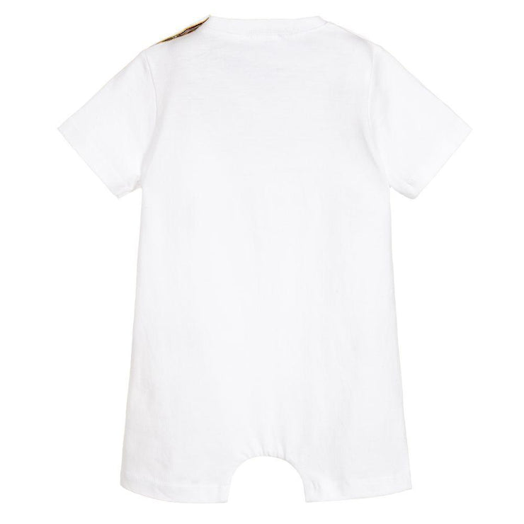 (Paul Smith) Junior Boys White Cotton Shortie - My Billionaire Baby
