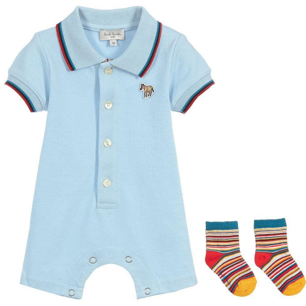 (Paul Smith) Junior Cotton Shortie Set - My Billionaire Baby