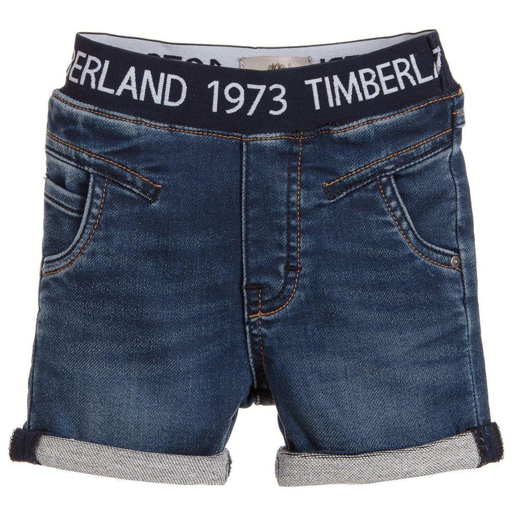 (Timberland) Boys Jog Jean Cotton Shorts - My Billionaire Baby