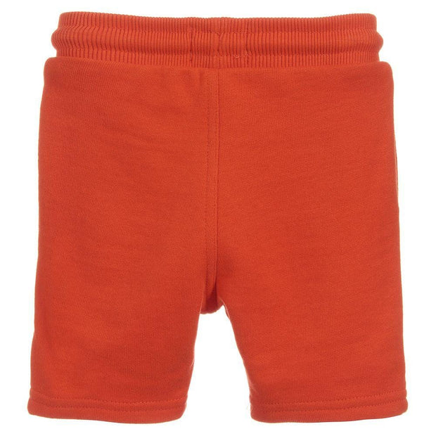 (Timberland) Boys Orange Cotton Shorts - My Billionaire Baby