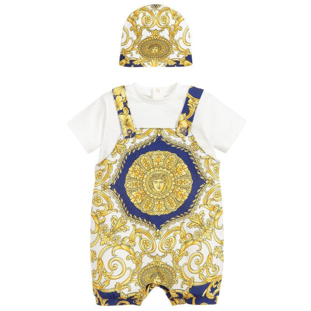 (Young Versace) Baroque Shortie Baby Gift Set - My Billionaire Baby
