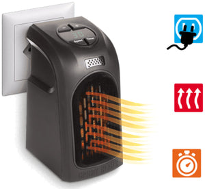 Mini Fan and Electric Wall and Desktop Heater