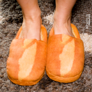 Appetizing, Funny Bread Slippers