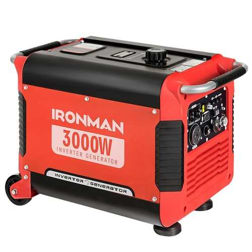3000 w Portable Single Cylinder Inverter Gasoline Generator