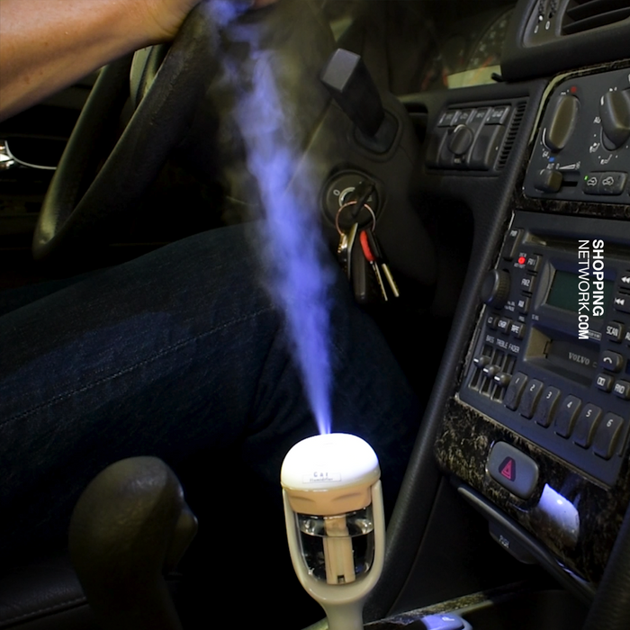 12V Car Air Freshener & Humidifier - Aroma Diffuser for your car