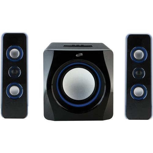 iLive Bluetooth 2.1 Ch. Home Music System w/LED Lights