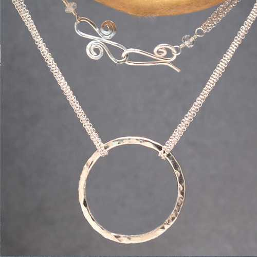 Necklace 347 - Silver