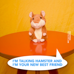 Plush Talking Hamster and Recorder - Child's Toy