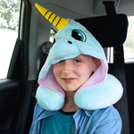 Cute Cartoon Unicorn Plush Travel Pillow