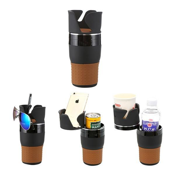 3-Layer Cup Stack Organizer - Multi-functional Storage and Cup Holder for Your Car