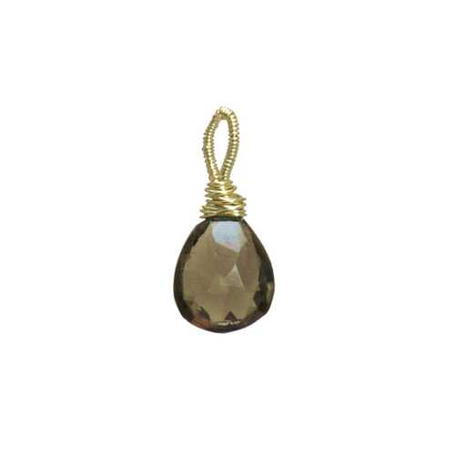 Smoky Quartz - Silver