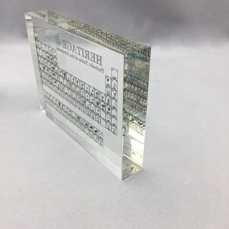 Acrylic Periodic Table of Elements Display