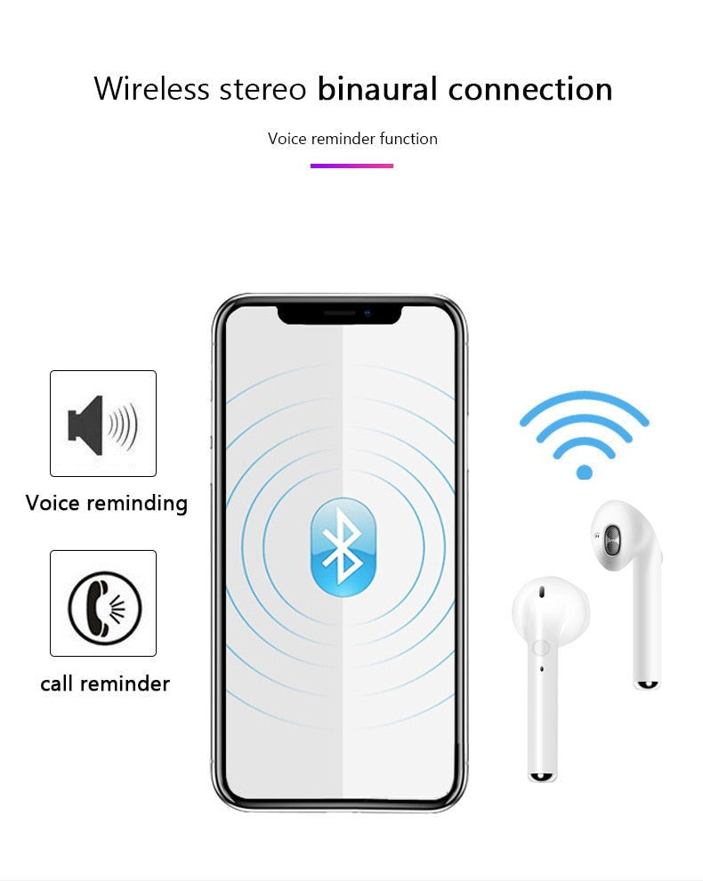 TOP Quality Smartphone Bluetooth Ear-pods (Buy 1 & Get 1 FREE)