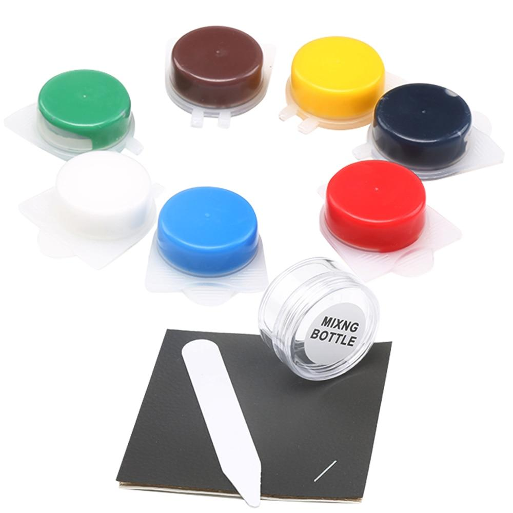 Multi-Color Leather Repair Kit - Easy Leather Touch Up Set