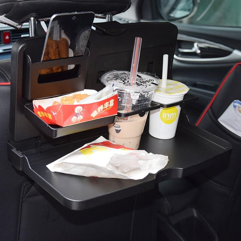 Seat Back Folding Tray Table for Cars, Vans, Trucks