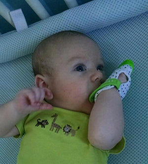 Silicon Teething Mitt and Pacifier Glove