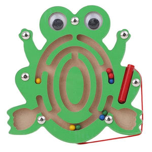 Magnetic Maze Wooden Toy Brain Teaser