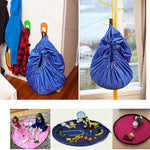 Portable Kids Toy Storage Bag and Play Mat