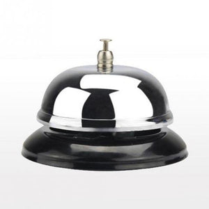 Restaurant Hotel Kitchen Service Steel Bell Ring Reception Desk Call Ringer Kitchen Timer