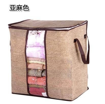 Non-woven Portable Storage Bag For Bedding & Clothing