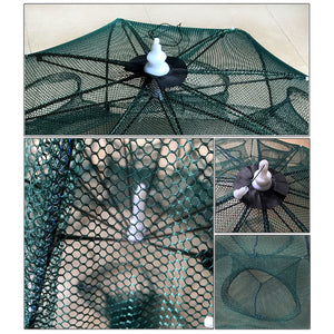 Retractable Cast Fishing Net