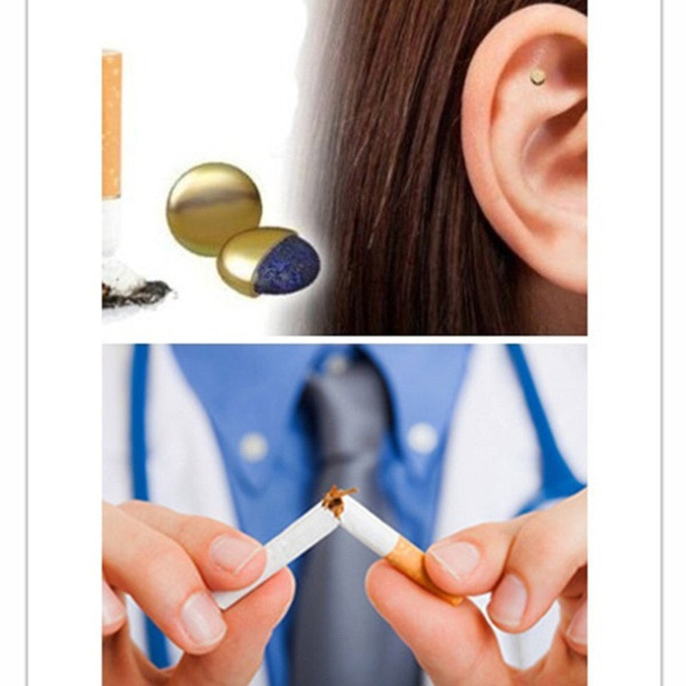 Magnetic Patch Acupressure Therapy To Quit Smoking