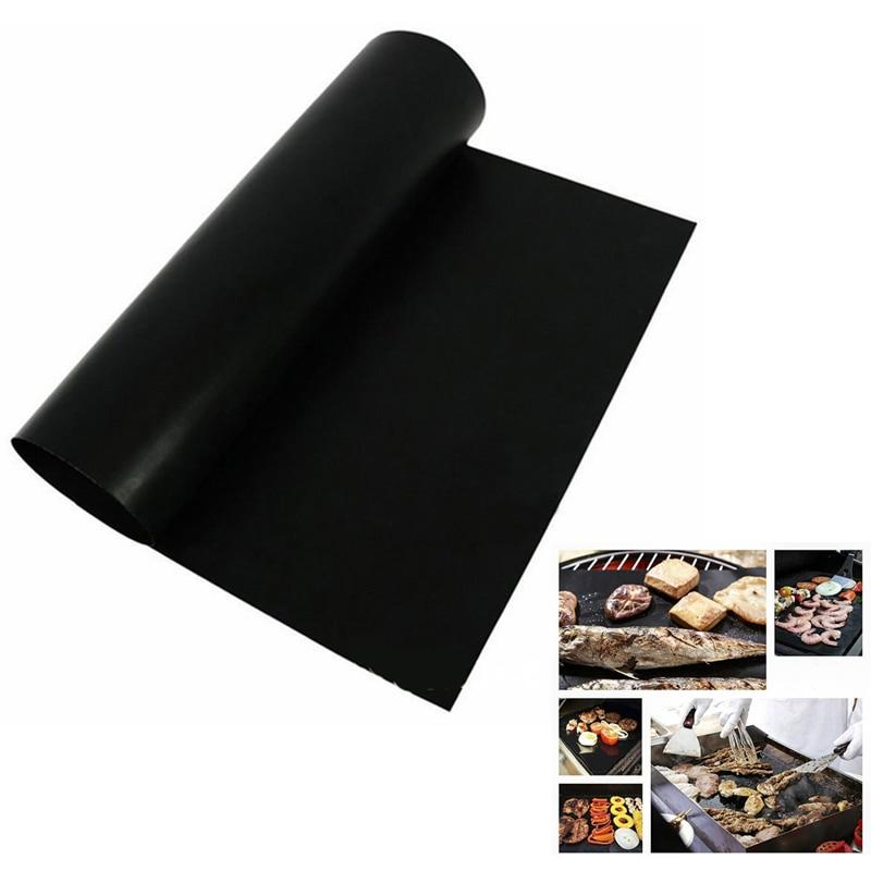 Reusable BBQ Mat Made with Non-Stick Teflon for BBQ Grill (2PC)