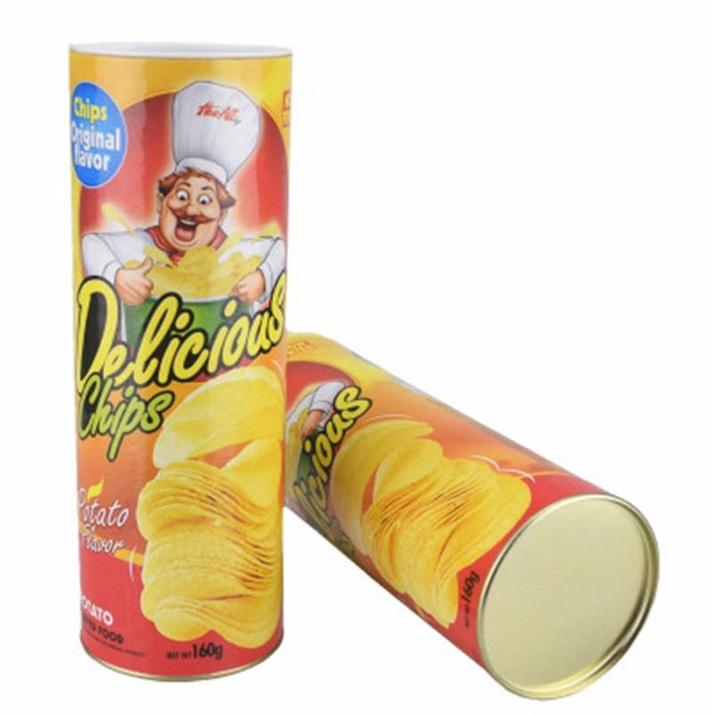 Potato Chip Snake-in-a-Can Prank Toy