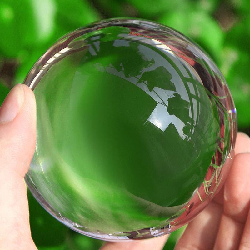 Clear Lens Photography and Prop Crystal Ball