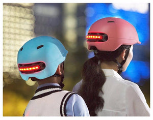 Xiaomi Waterproof Smart Flash Bicycle Helmets