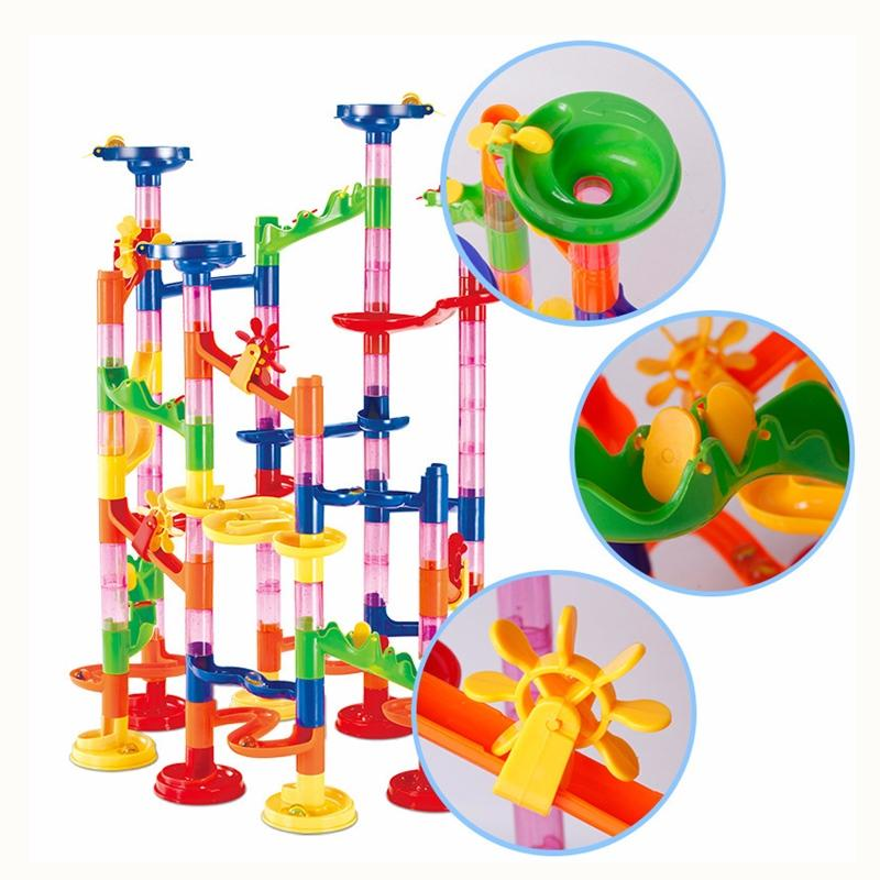 DIY STEM Toy Marble Ball Maze Track