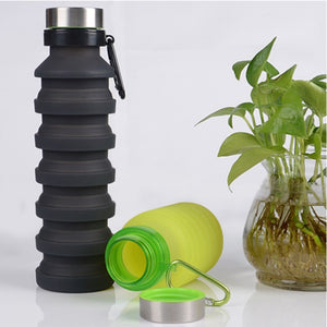 Portable and Collapsible Water Bottle