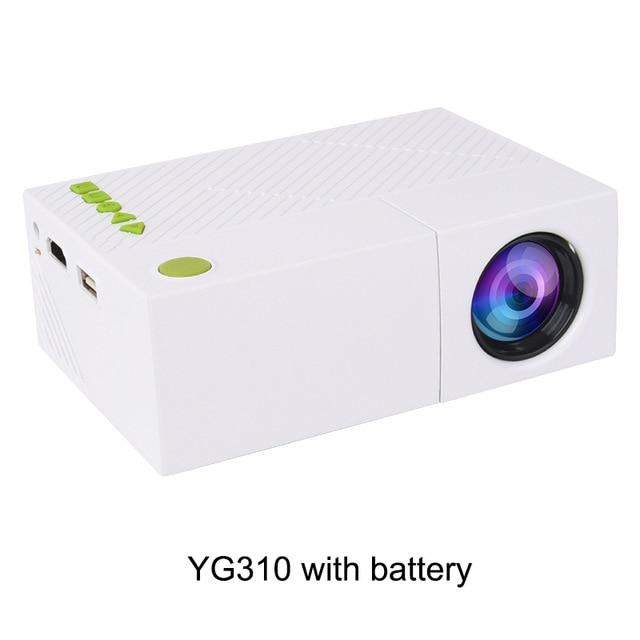 Portable Pocket Projector with HDMI/SD/USB Ports