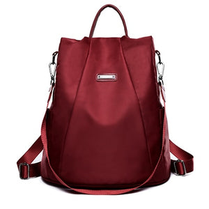 DIZHIGE Women's Anti-theft Oxford Backpack - Water Resistant