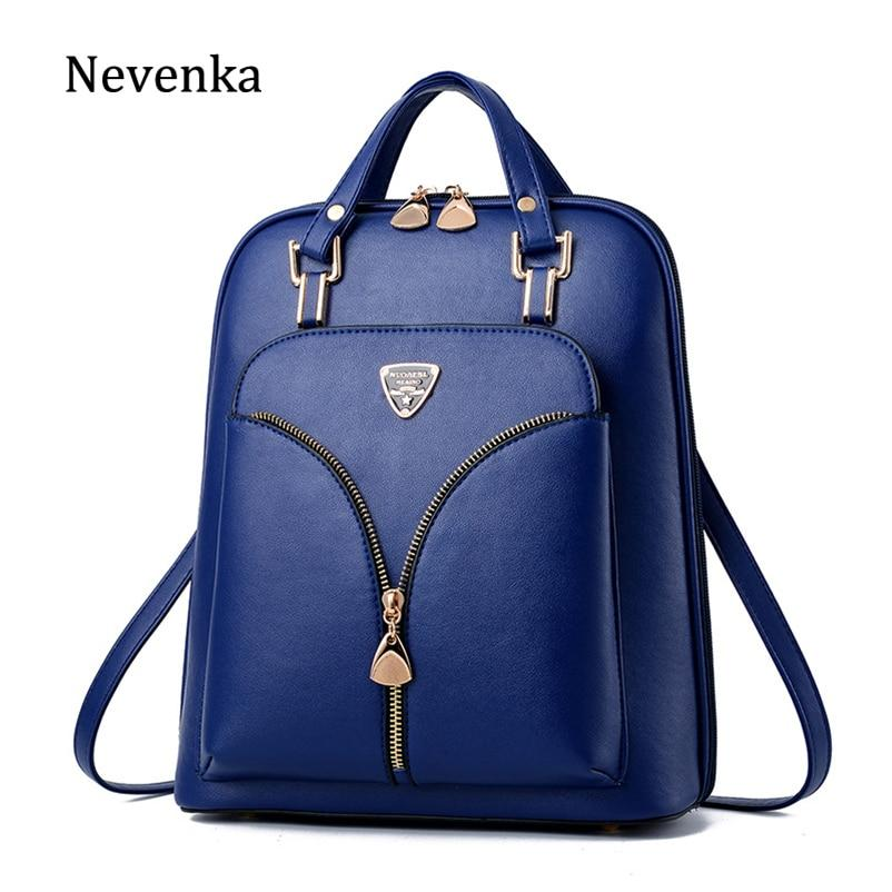 Nevenka Women's Anti Theft Leather Backpack