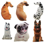 Realistic 3D Dog Cushion Pillow