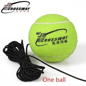 Rebound Ball Tennis Training Tool and Self-Study Trainer
