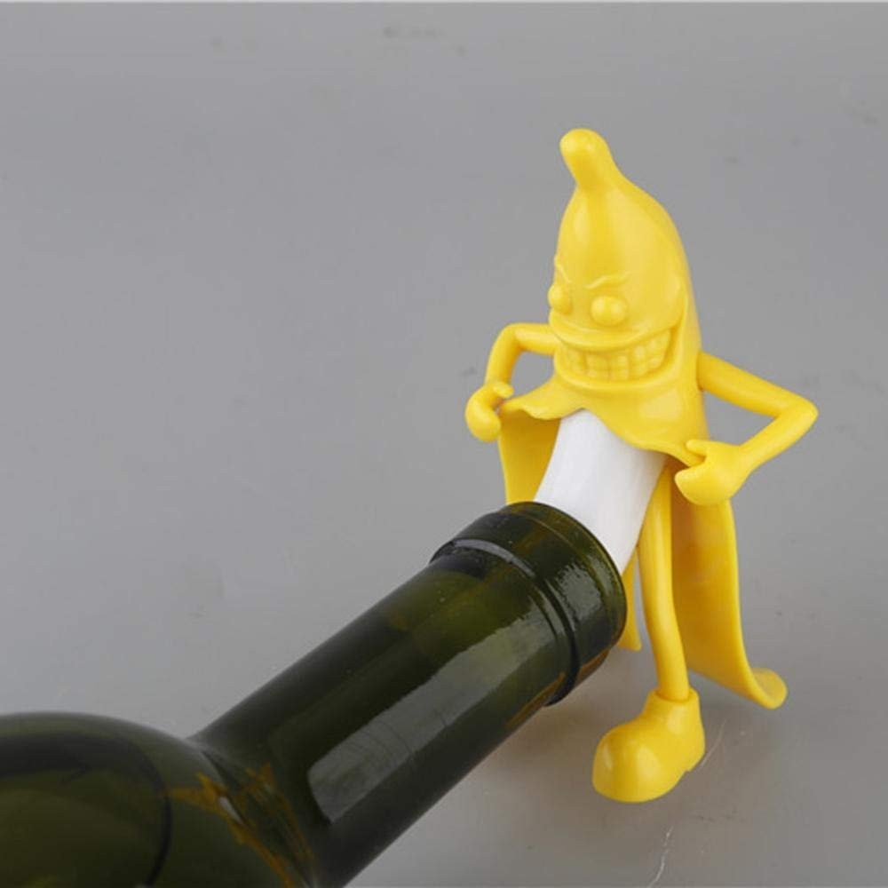 Banana Bottle Stopper