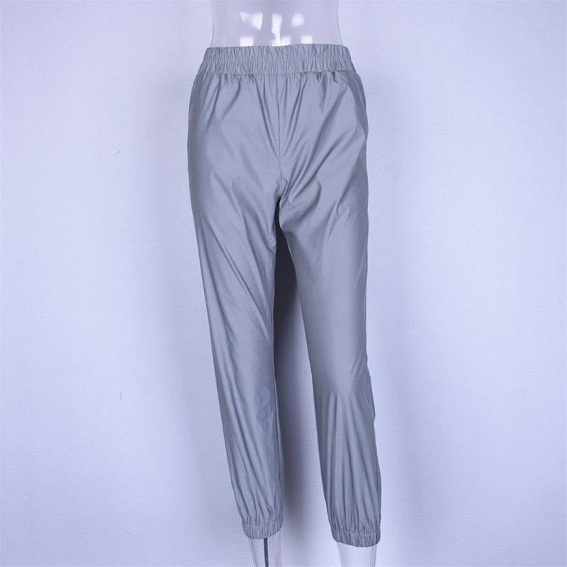 Reflective Jogger Exercise Pants For Safety