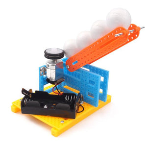 DIY STEM Toys for Children Physical Scientific Experiment Creativity Learning Educational Toy DIY Crane Birthday Gift